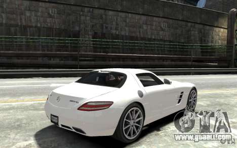 Mercedes-Benz SLS AMG 2011 v3.0 for GTA 4 right view