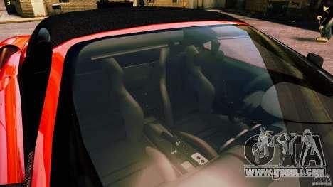 Ferrari 430 Spyder v1.5 for GTA 4 upper view