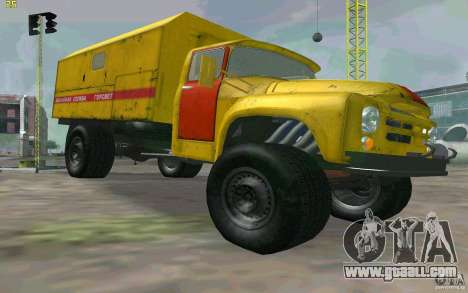 ZIL 130 night watch for GTA San Andreas right view