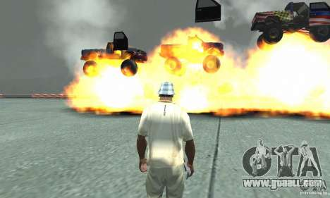 The atomic bomb for GTA San Andreas