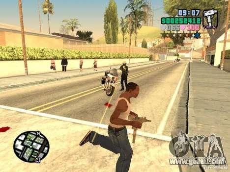 Vice City Hud for GTA San Andreas fifth screenshot