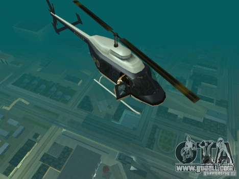 Helicopter Grab v1.0 for GTA San Andreas second screenshot