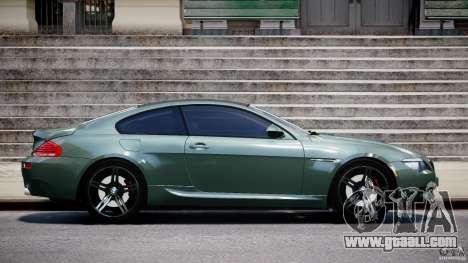 BMW M6 2010 v1.5 for GTA 4 left view