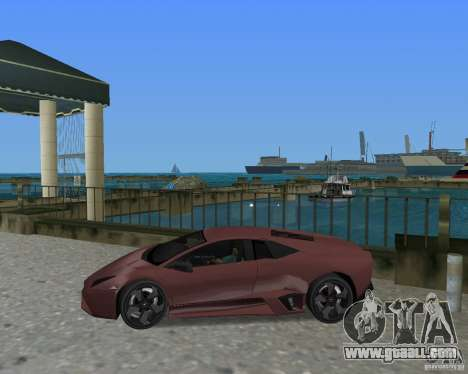 Lamborghini Reventon for GTA Vice City right view