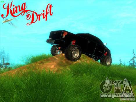 Toyota Tundra OFF Road Tuning for GTA San Andreas back view