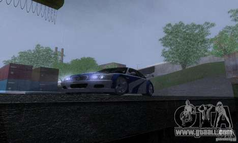 ENB Reflection Bump 2 Low Settings for GTA San Andreas eighth screenshot