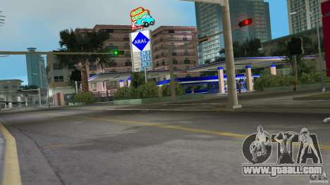 Aral Tankstelle Mod for GTA Vice City second screenshot