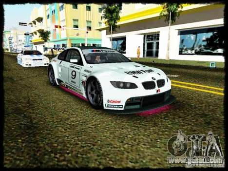 BMW M3 GT2 for GTA Vice City back view