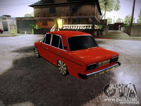 Vaz 2106 Fanta for GTA San Andreas back left view
