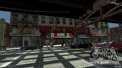 Puglia Pizza in Brook for GTA 4 second screenshot
