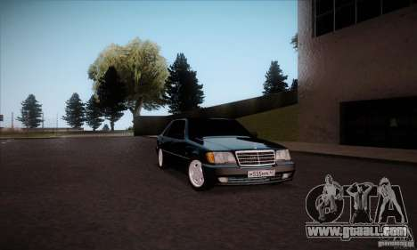 Mercedes-Benz 600SEL AMG 1993 for GTA San Andreas right view