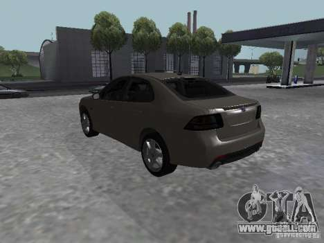 Saab 9-3 Turbo X for GTA San Andreas left view