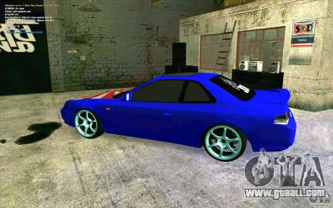 Honda Prelude for GTA San Andreas left view