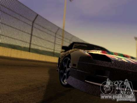 Nissan 240sx Street Drift for GTA San Andreas back view