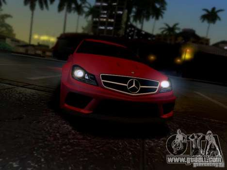 Mercedes Benz C63 AMG C204 Black Series V1.0 for GTA San Andreas right view