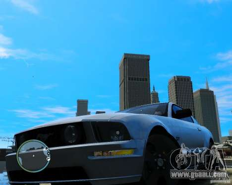 Ford Mustang GT 2005 v1.2 for GTA 4 right view