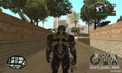 Crysis skin for GTA San Andreas fifth screenshot