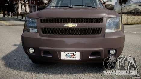 Chevrolet Tahoe Indonesia Police for GTA 4 inner view