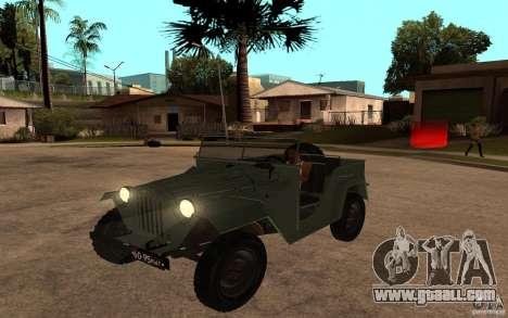 GAZ 67 b for GTA San Andreas