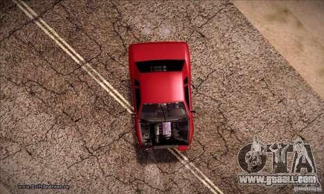 Elegy 180SX for GTA San Andreas right view