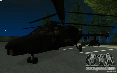 KA-52 ALLIGATOR v1.0 for GTA San Andreas