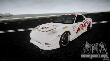 Mazda RX7 FD Apex Imamura for GTA 4