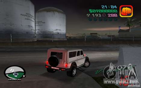 UAZ-3159 for GTA Vice City left view