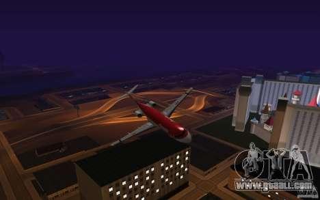 Fokker-100 for GTA San Andreas