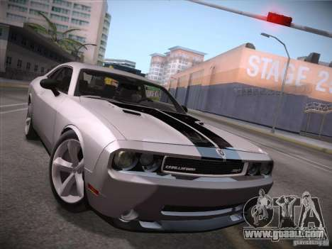 Dodge Challenger SRT8 v1.0 for GTA San Andreas left view
