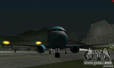 AT-400 in all airports for GTA San Andreas fifth screenshot