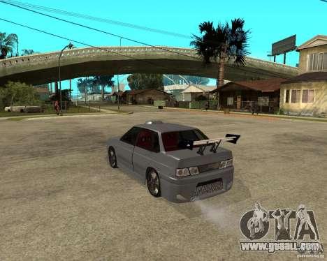 VAZ 2115 MCC for GTA San Andreas left view