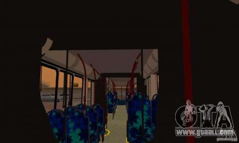 Caio Induscar Millenium II for GTA San Andreas inner view