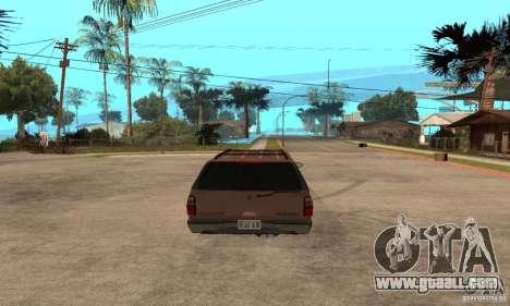 Chevrolet Suburban for GTA San Andreas right view