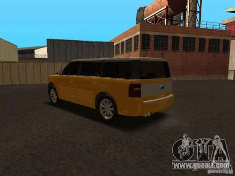 Ford Flex for GTA San Andreas right view