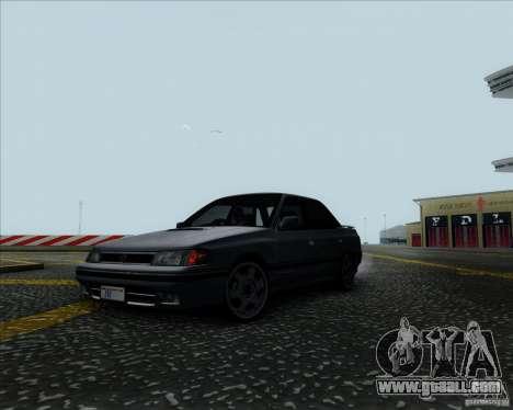 Subaru Legacy RS 1991 for GTA San Andreas right view