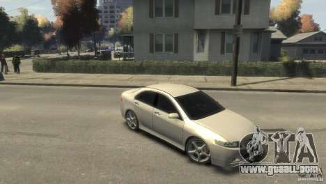 Honda Accord Type-S 2003 for GTA 4 right view