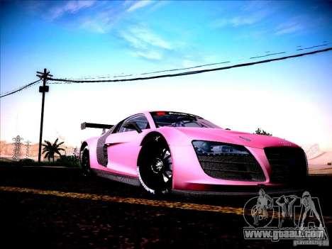 Audi R8 LMS v2.0 for GTA San Andreas