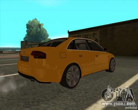 AUDI S4 Sport for GTA San Andreas left view