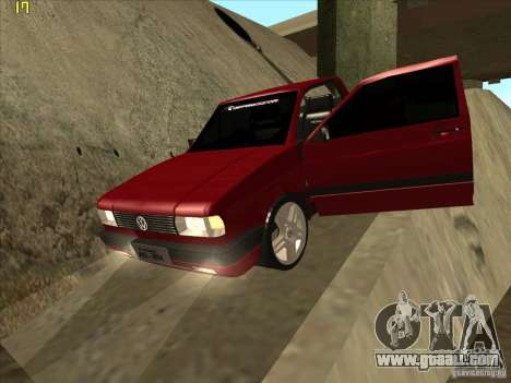 Volkswagen Saveiro Summer for GTA San Andreas upper view