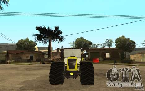 CLAAS Axion 850 for GTA San Andreas back left view