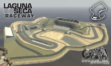Laguna Seca for GTA 4