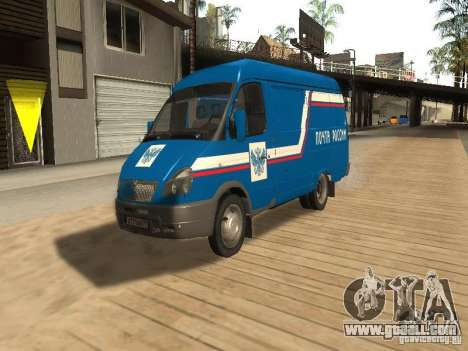Gazelle 2705 mail of Russia for GTA San Andreas