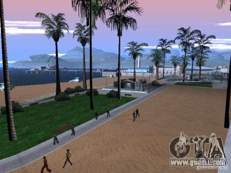 New Beach texture v1.0 for GTA San Andreas third screenshot