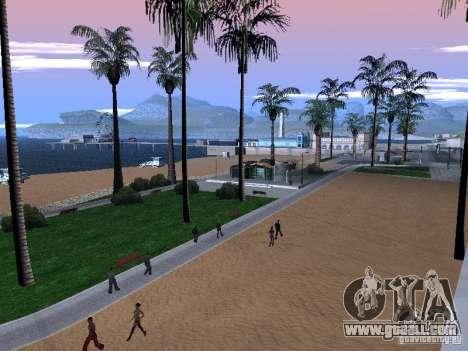 New Beach texture v1.0 for GTA San Andreas third screenshot