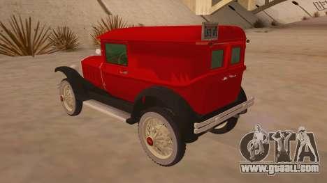 Pearce 1931 for GTA San Andreas