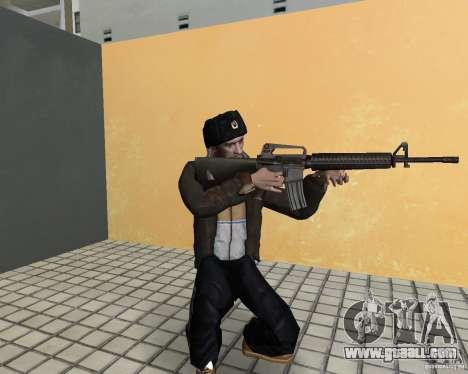 Niko Bellic in ear flaps for GTA Vice City