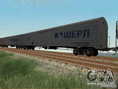 Freight car for GTA San Andreas