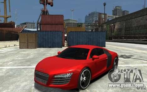Audi R8 2008 for GTA 4
