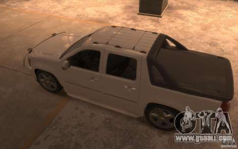 Chevrolet Avalanche v1.0 for GTA 4 back left view