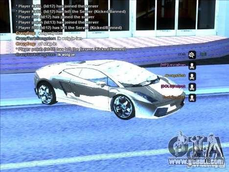 ENB series for weak video card for GTA San Andreas fifth screenshot